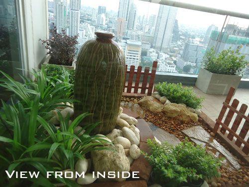 balcony garden bangkok thailand