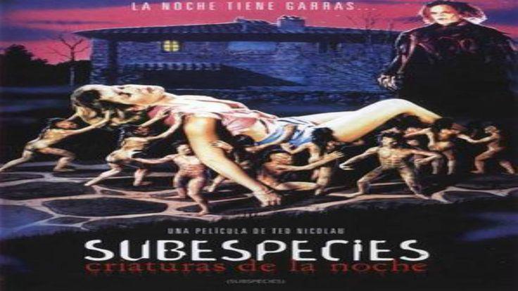 """Subspecies (1991) """"Español"""""""
