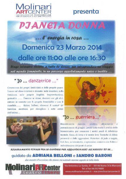 Stage Pianeta donna, un viaggio fra i colori dell'anima, la danza e la difesa personale « weekendinpalcoscenico la danza palco e web | IL PORTALE DELLA DANZA ITALIANA | weekendinpalcoscenico.it