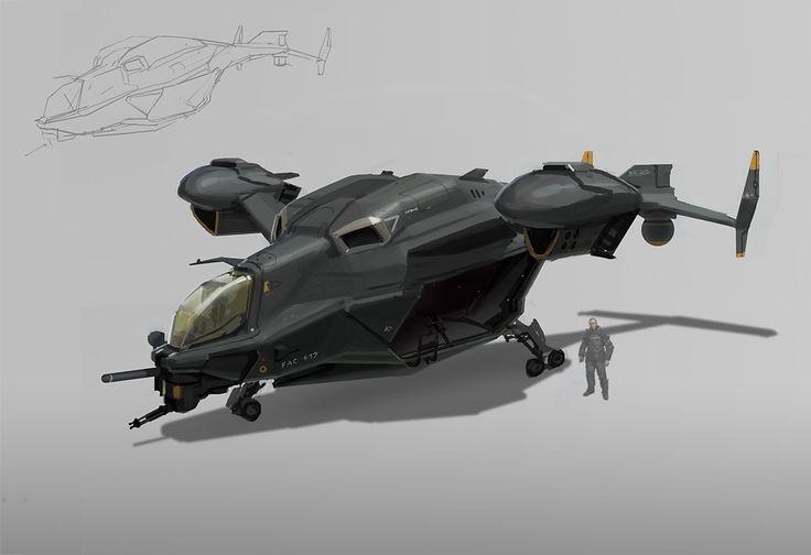 VTOL gunship/ carrier | Future War near-Scifi | Pinterest ...