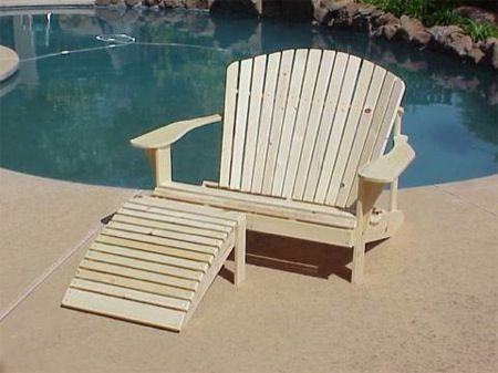 Adirondack Loveseat Chair Plans Woodworking Projects Plans