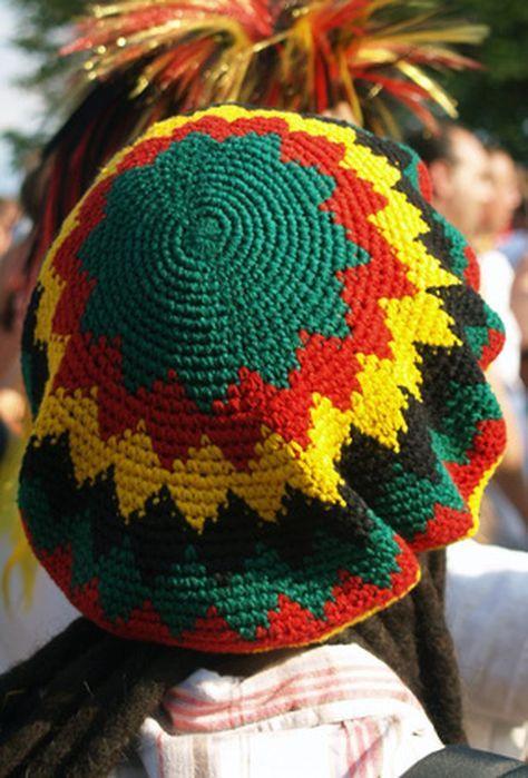 Instructions For A Crocheted Dreadlock Hat Slouchyhat Pinterest