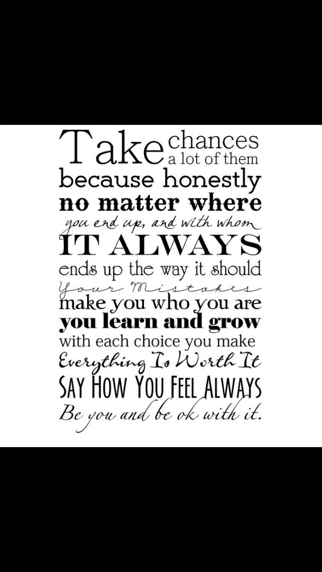 quotes about taking chances - photo #8