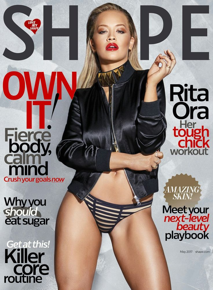 #RitaOra looks amazing in #Shape mag's new issue! • • • • • #RitaOra está incrível na nova edição da revista #Shape!