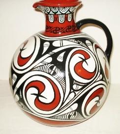 Beautiful Trypillian Vase - love it... Inspiration for my next pysanka???