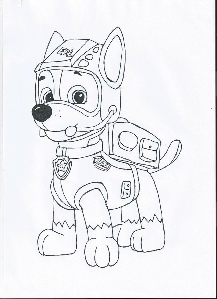 Paw Patrol Coloring Pages Free Everest : Best coloring pawpatrol images on pinterest