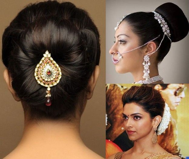 Best 25+ Indian Bridal Hairstyles Ideas On Pinterest