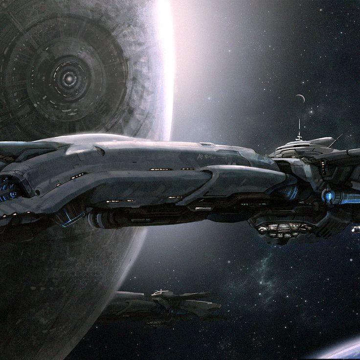 Sci-Fi & Fantasy Concept Art.