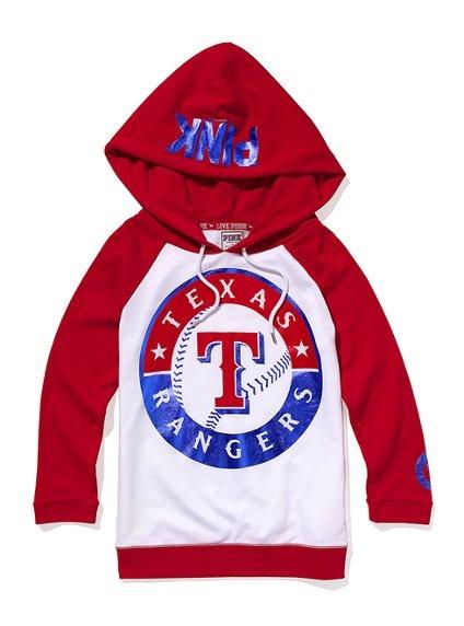 Texas Rangers Baseball Hoodie - Victoria's Secret Pink® - Victoria's Secret