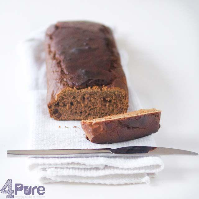 Sugarfree peperkoek #sugarfree #cake #dutch #peperkoek #baking #sweet #recipe #winter http://www.4pure.nl