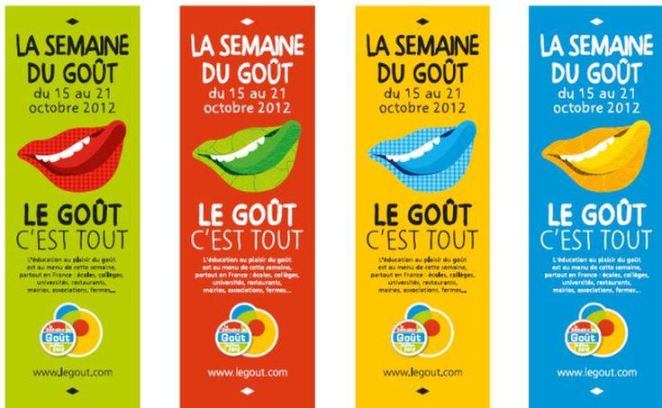La Semaine du Goût, du 15 au 21 octobre 2012 - Leçons du Goût, Ateliers du Goût, Tables du Goût... #gastronomie #cuisine #france