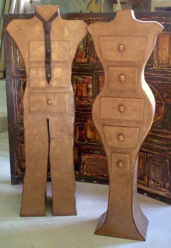 Inspiration pour le makerspace de Lille #meuble Cardboard Furniture