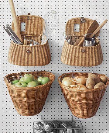 8 idées créatives pour utiliser les paniers autrement dans votre maison