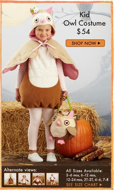 I wanted to get this for Peyton for Halloween, but my mom thinks it looks too hot for fall in Charleston