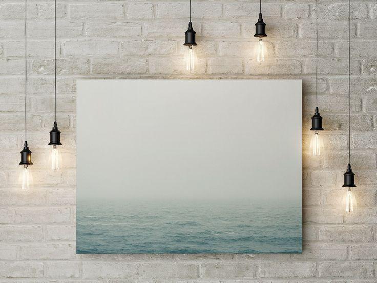 #MEER von Gregor Ingenhoven - #Fotokunst mit #Glühbirnen fürs #Zuhause  #Sylt #Sturm #Landschaften #blau #Wasser #Brandung #Welle #Nebel #Homedecor #Wanddeko #Kunstdruck #Wandbilder #Homesweethome #Acrylglasbilder