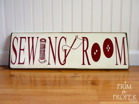 I want this!!!  Sewing Room Sign