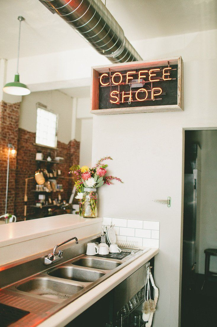 Layout. Ali Dustin's Reinvented Piece of Denver History: The Black Eye Coffee Shop