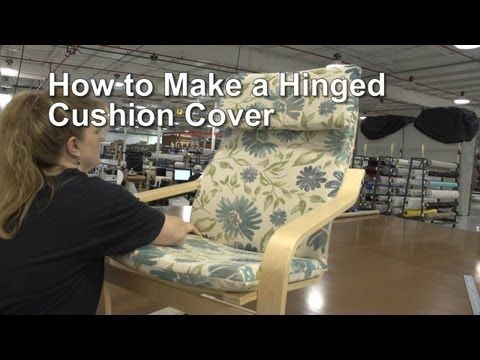 What a brilliant trick to inserting foam into the cushion cover! Wish I'd known this earlier!