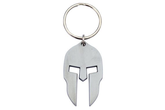 Spartan Helmet Keychain Key Ring From The Sparta by CultCoutureUSA