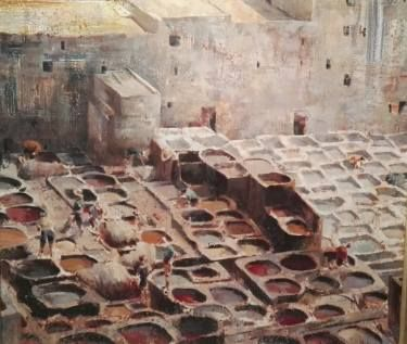 THE DYEING VATS OF FEZ