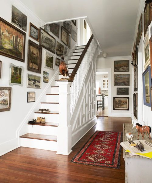 25 best ideas about restored farmhouse on pinterest - How to paint a stairway wall ...