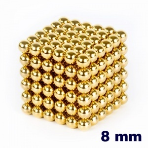 NeoCube Dorado de 8 mm    http://www.regatron.es/neocube/neocube-dorado-cubo-de-216-bolas-de-8mm-de-diametro.html
