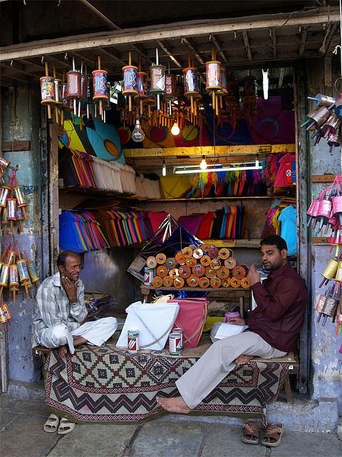 Gujarat, India _Kites!