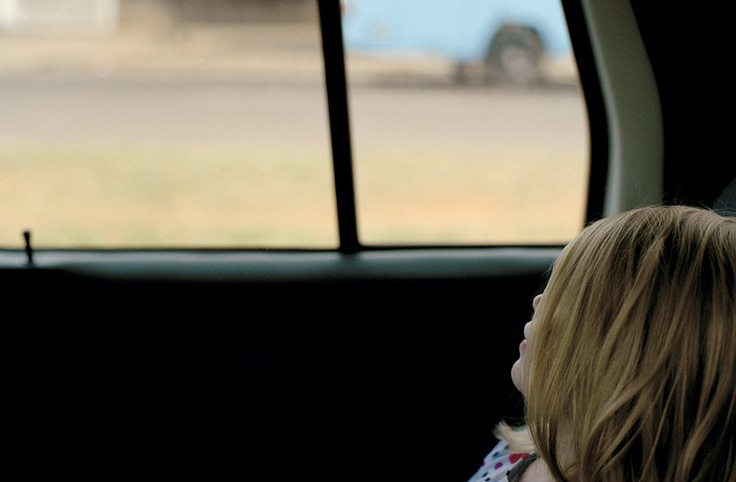 Kids in cars...