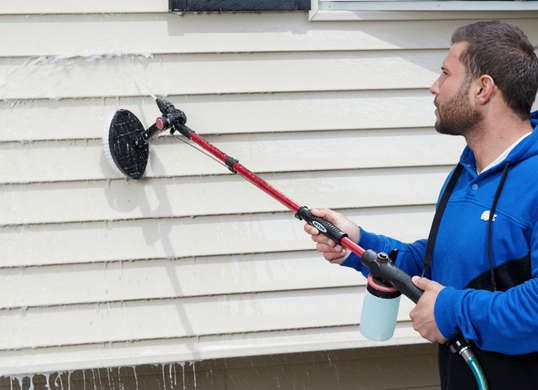 Since the popularity of synthetic exteriors is indisputable, it's no wonder that many so homeowners wish to know how to clean vinyl siding.