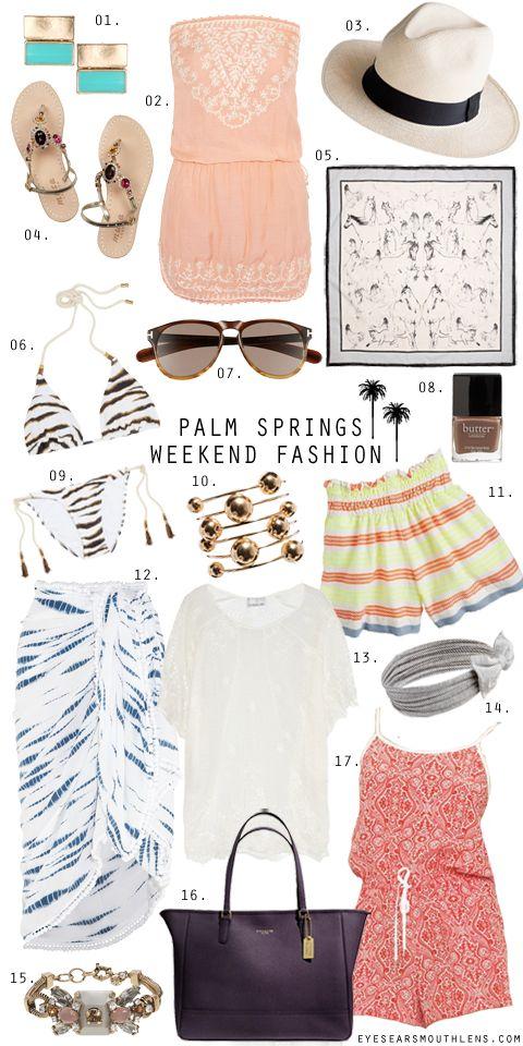 a palm springs weekend getaway | eyes/ears/mouth+lens