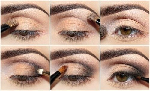 Maquillage des yeux simple