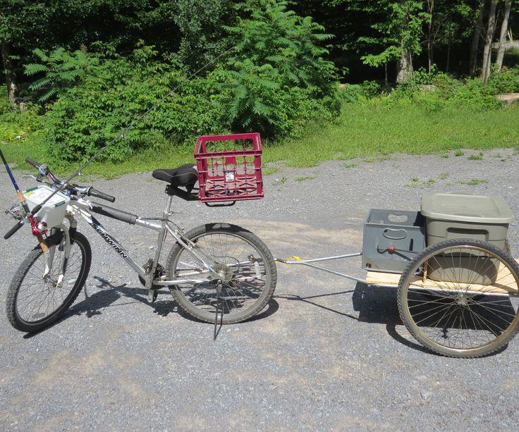 Pack Mule Mini Bike : Best images about bike trailer on pinterest