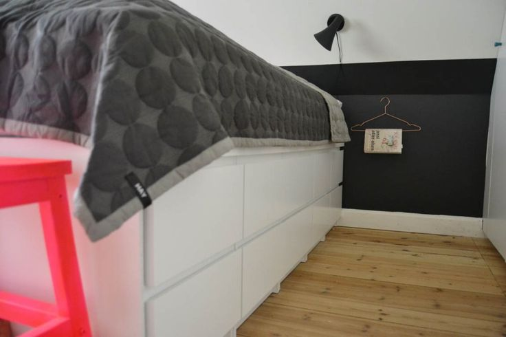 makeover-bedroom-soveveaerelse-indretning-bolig-hay-kommode-diy-seng