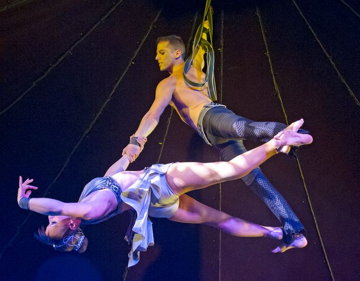 Martin & Beth's aerial act