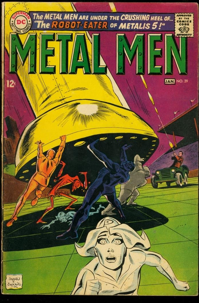 Metal Men - DC - Silver-Age - COMICS