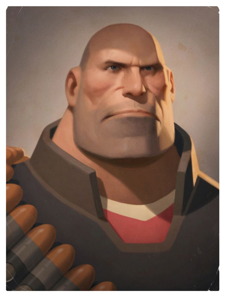 The Heavy - Team Fortress 2 - Moby Francke
