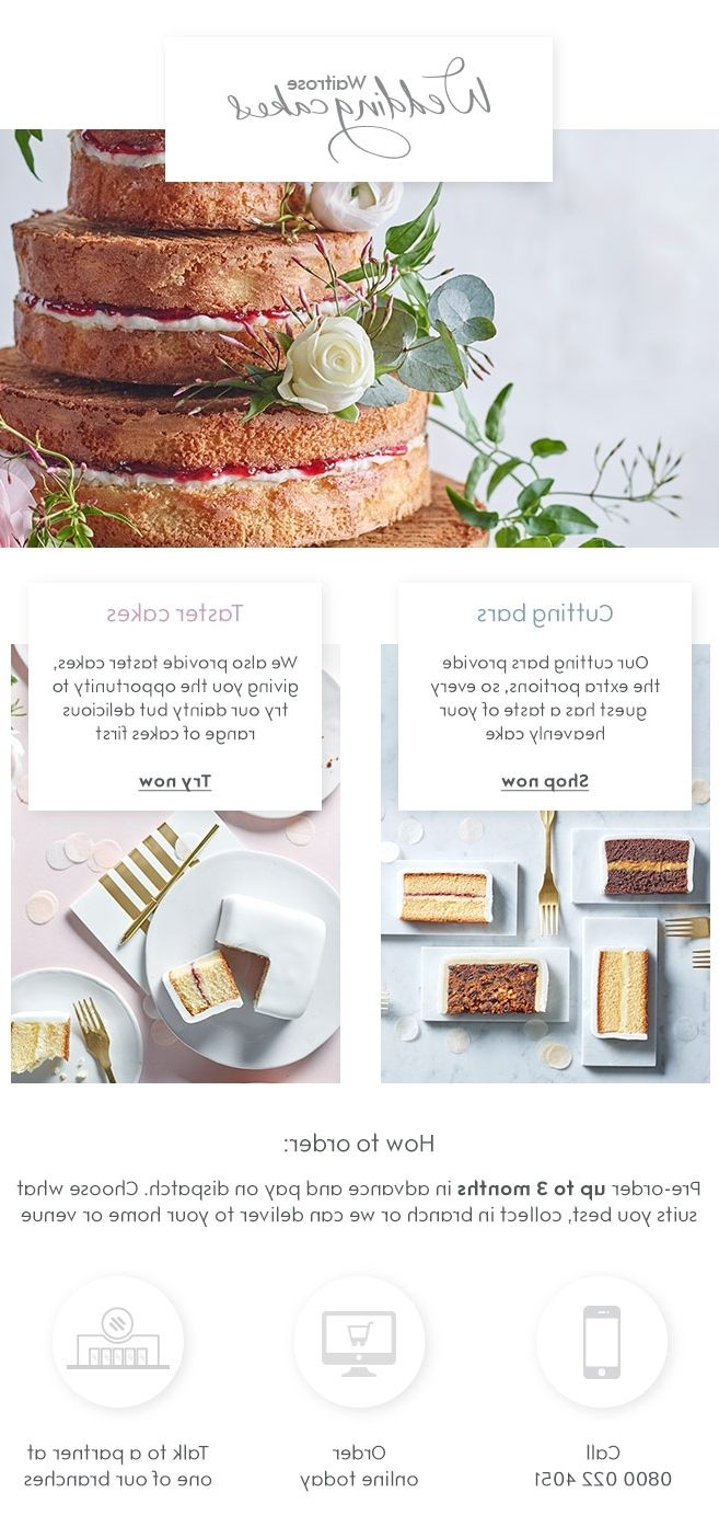 Cheap wedding cakes waitrose recipes – Presta wedding blogs