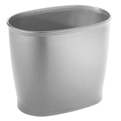 InterDesign Kent Oval Space Saving Trash Can, Silver InterDesign http://www.amazon.com/dp/B00ZPVLAVW/ref=cm_sw_r_pi_dp_kteTwb164A4DG