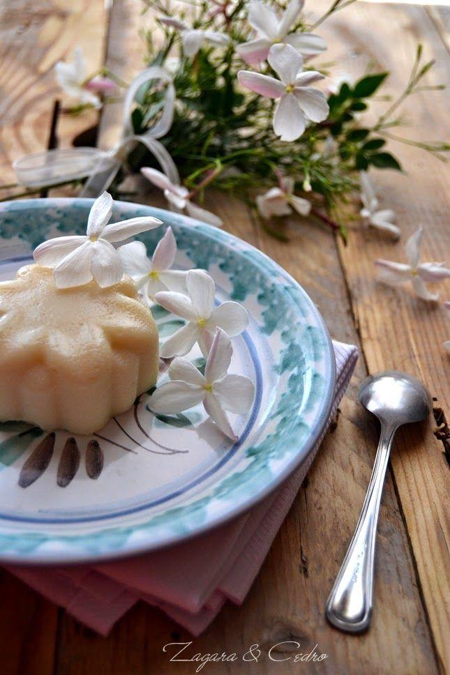 Biancomangiare al Gelsomino…..ricetta Siciliana | Zagara e Cedro
