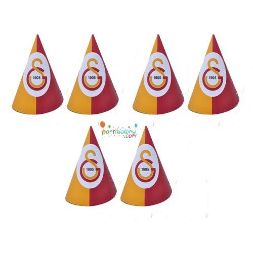 Galatasaray Şapka Galatasaray Karton Şapka Ürün ÖzellikleriÜrün Paketinde 6 Adet Galatasaray Şapka bulunuyor.Karton Şapka Kaliteli ve canlı renklerdedir.Galatasaray temalı şapkalar kartondan üretilmiştir.Doğum günü partilerinin vazgeçilmez bir ürünü olup çocuklara dağıtabilirsiniz. Farklı Galatasaray