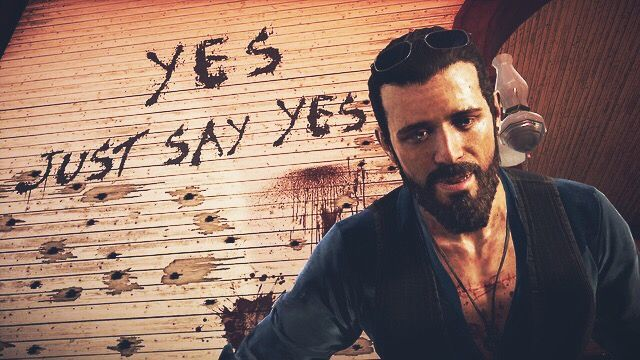 Just Say Yes John Seed Far Cry 5 You Are The Father Crying