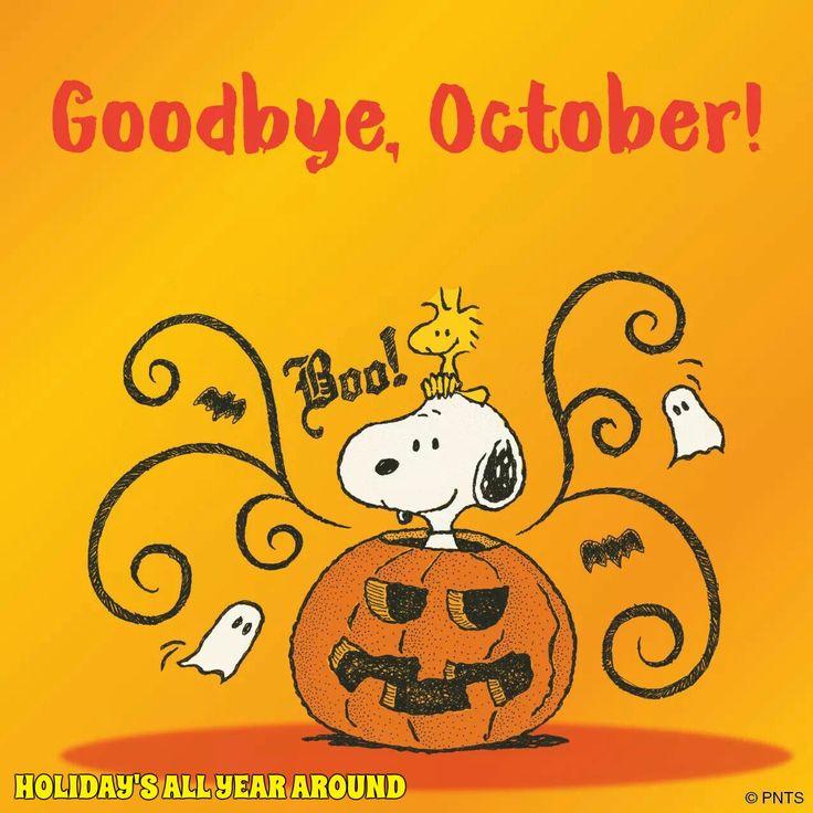 Goodbye, October! 🎃