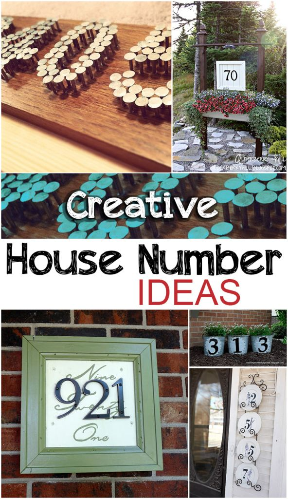 10 Best Images About House Numbers On Pinterest Ceramics