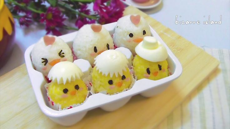#Easter Chicks #bento Recipe | bizarre island