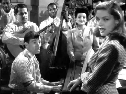 Hoagy Carmichael  (Lauren Bacall )- Am I Blue - To Have And To Have Not.mp4 from the film,