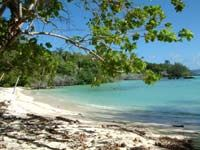 Beach at Torres Island.