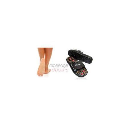Living Health Products RS-700-b2-M Reflexology Sandals - Rotating massage heads - Medium for 39,40,41, Multicolor