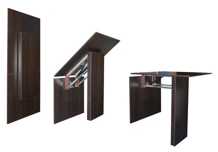 Mesa plegable pared buscar con google mesa cocina - Mesas escritorio plegables ...
