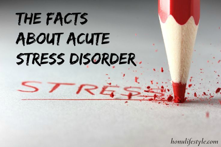 What are the symptoms of acute stress disorder, and how can it be treated? #anxiety