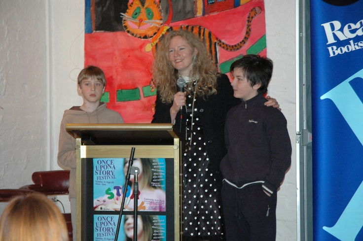 At the Melbourne launch of A Prayer for Blue Delaney with Henry Patterson-Finch (left - the boy on the cover) and Ruben Legge (right). Both boys provided great editorial comments on several of my novels.